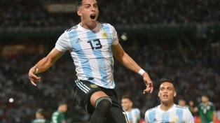 Argentina le ganó 2 a 0 a México en Córdoba