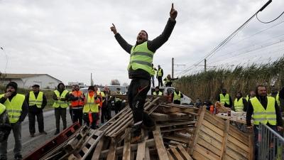 Una nueva protesta en París por el aumento del impuesto a los combustibles