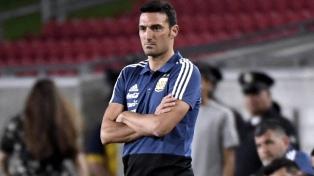 Scaloni piensa que la Selección llega bien a la Copa América
