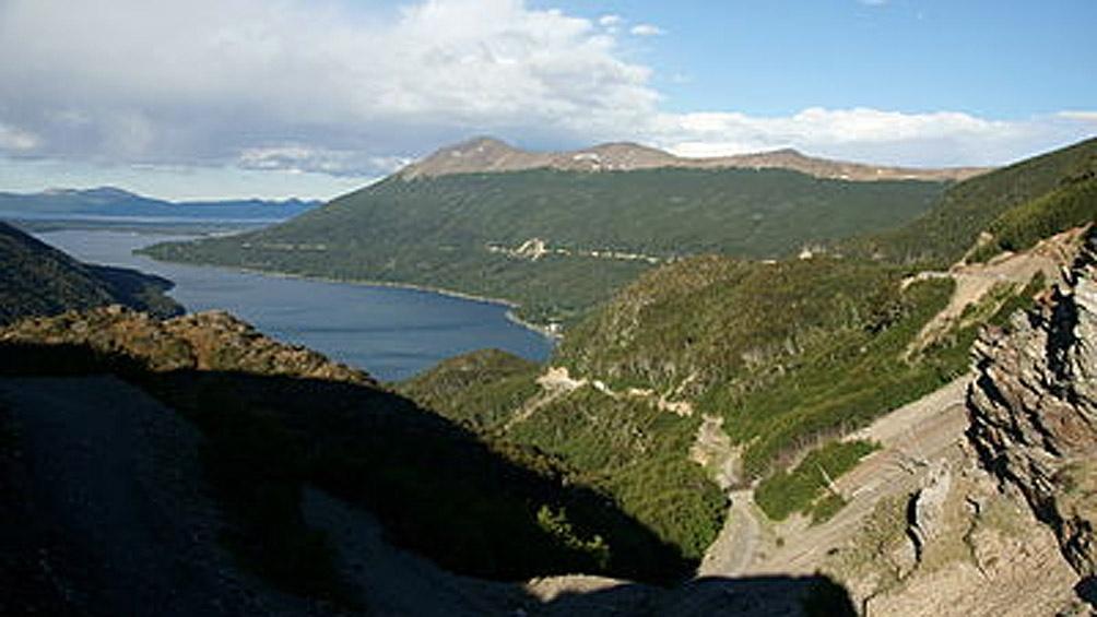 Una vista del Paso Garibaldi, a 2.000 metros de altura