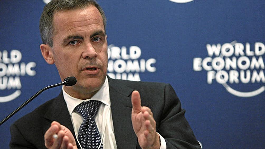gobernador del Banco de Inglaterra, Mark Carne