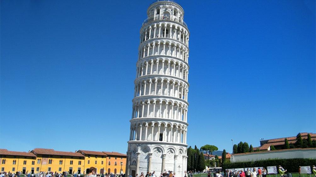 foto de La Torre de Pisa reduce cuatro centímetros su inclinación