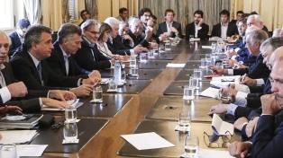 Macri encabezó una reunión con representantes de la Mesa de la Cadena de Ganados y Carnes