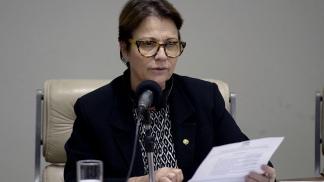 La ministra de Agricultura de Brasil, Tereza Cristina Correa.