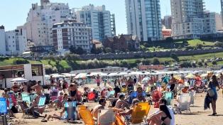 Mar del Plata: casi 620.000 turistas y ocupación promedio del 62% en la primera quincena