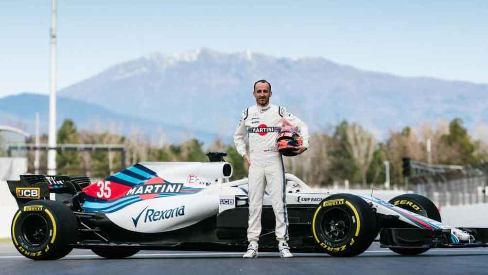 El polaco Kubica será piloto de reserva de Alfa Romeo