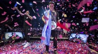 "La final internacional de la ""Batalla de los Gallos"" se va a disputar en la Argentina"