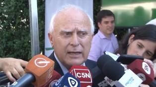 """""""Esta elección es un hito importante"""", dijo Lifschitz al votar en Rosario"""