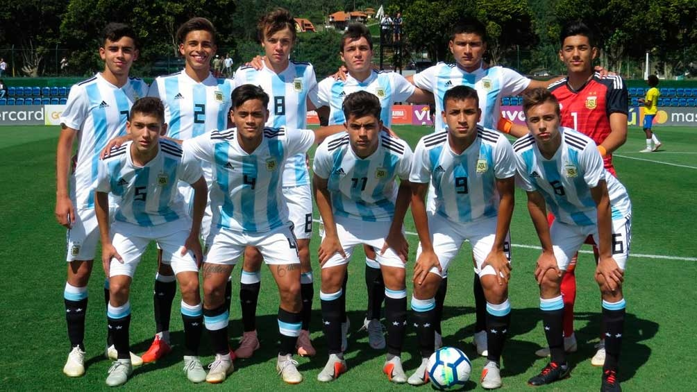 Argentina venció a Brasil en Teresópilis, con miras al Sudamericano (foto: @Argentina)
