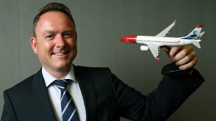 El CEO de Norwegian anticipó que la empresa volará desde El Palomar el año próximo