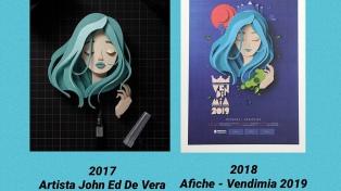 Por plagio en un concurso gráfico de Vendimia 2019, sancionarán a los ganadores