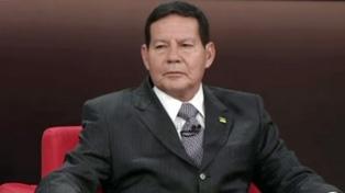 Mourao criticó la disputa entre Bolsonaro y el jefe de Diputados