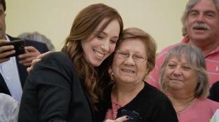 Vidal anunció un bono para jubilados, un refuerzo del plan Más Vida y adelantará el aguinaldo