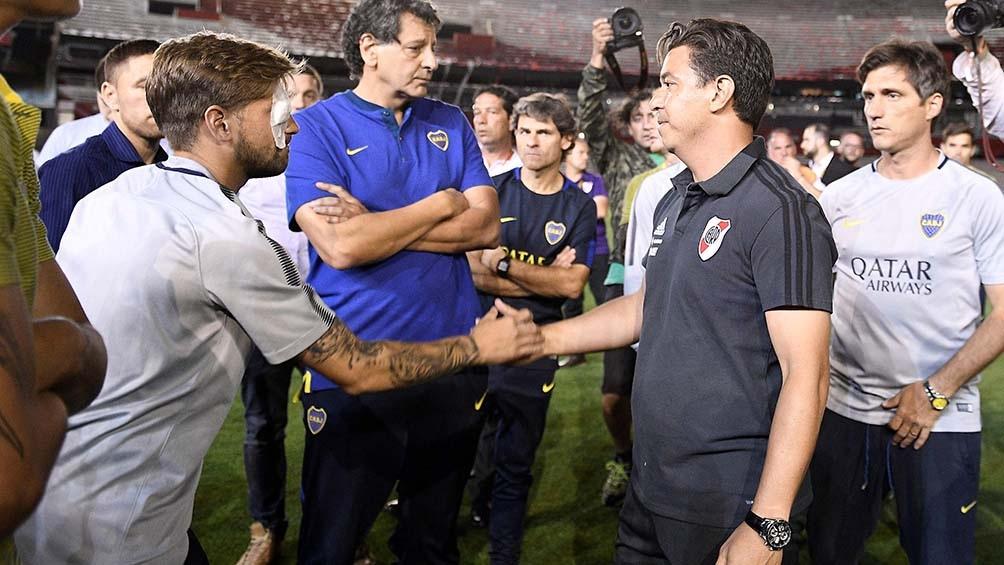 Boca Juniors elevó hoy ante la Conmebol un pedido para la suspensión de la  superfinal de la Copa Libertadores ante River Plate 851a0420f83