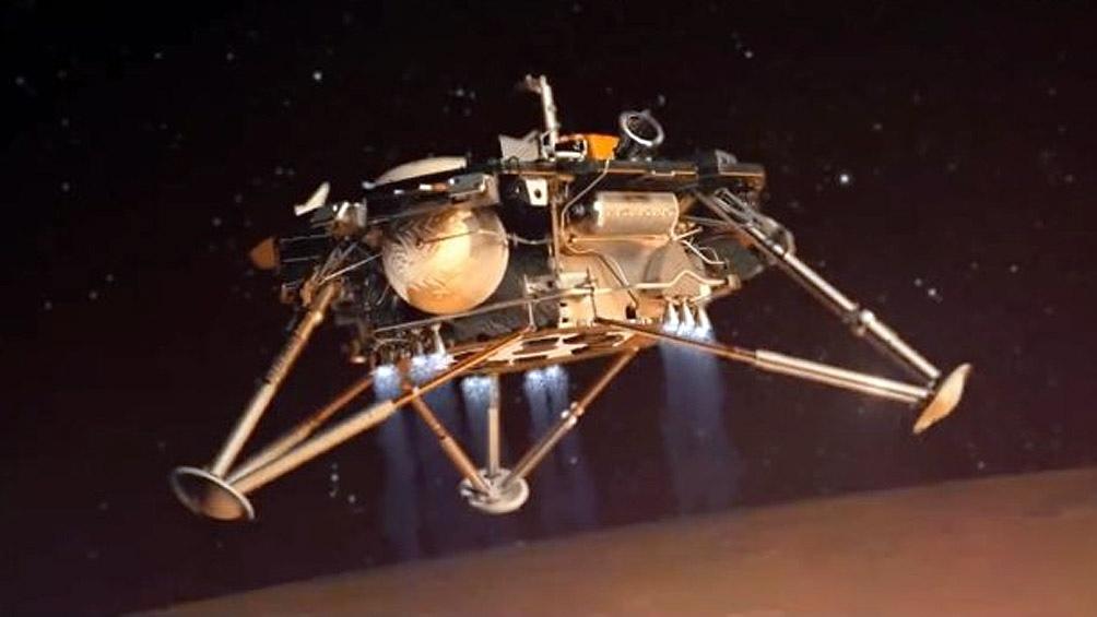 #EnVivo: Sonda InSight aterriza en Marte