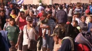 Frenarán el ingreso masivo de caravanas de migrantes