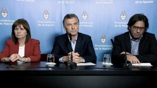 Macri anunció que incluirá en extraordinarias un proyecto que endurece las penas a los barras
