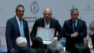 Carlos Rottemberg fue reconocido en Diputados por su aporte a la cultura argentina