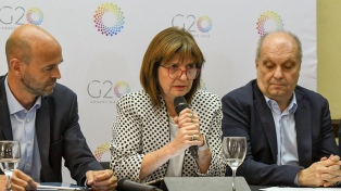 El gobierno nacional comenzó a desplegar el operativo de seguridad para el G20