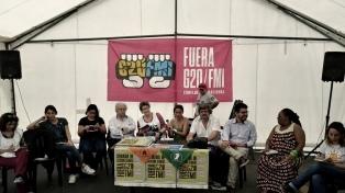 Comenzaron en plaza Congreso las actividades de una contracumbre anti-G20