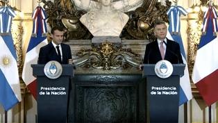 """Macri: """"Estamos muchísimo más cerca de un acuerdo Mercosur-Unión Europea"""""""