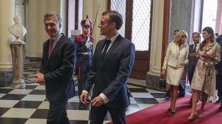 """Macri elogió la reforma laboral de Francia y dijo que """"necesitamos una legislación moderna"""""""