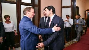 """Bordet y Urtubey se reunieron para consolidar """"un verdadero gobierno de unidad nacional"""""""