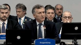 Macri recibe a Putin y a Lagarde en la Casa Rosada