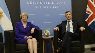 """May y Trudeau destacaron el """"trabajo"""" y """"liderazgo"""" de Macri"""