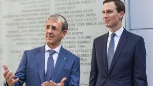 El yerno y asesor del presidente Trump rindió homenaje a las víctimas de la AMIA