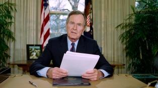 Murió el ex presidente estadounidense George H. W. Bush