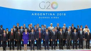 Las mejores fotos de Télam de la Cumbre en Buenos Aires