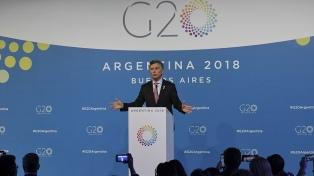 Las diez frases destacadas de la conferencia de Macri durante el cierre de la cumbre