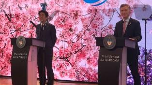 """Macri destacó a Japón como """"socio estratégico"""" en el camino del crecimiento"""