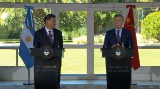 """Macri: """"Cuanto mejor le vaya a China, mejor le irá a los argentinos y al mundo"""""""