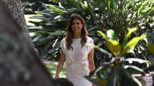 Juliana Awada recibió al maestro Tabichi en la Quinta de Olivos