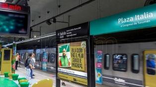 Suspenden el aumento de la tarifa del subte previsto para mayo