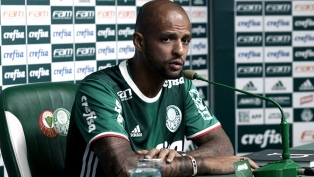 Felipe Melo, de Palmeiras, dijo que los Argentinos avergüenzan al fútbol