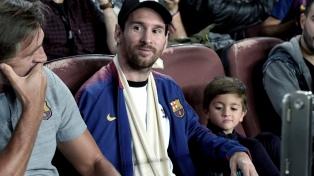 Lionel Messi, Paulo Dybala y Mauro Icardi, presentes en el Bernabéu