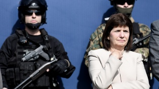 """Bullrich destacó la """"voluntad inquebrantable"""" de combatir el narcotráfico"""