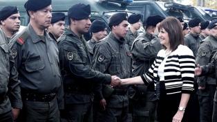 Un juez porteño prohibió aplicar el nuevo protocolo sobre uso de armas
