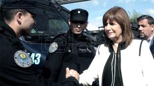 """Bullrich dijo que el presidente Macri """"apoya"""" el nuevo protocolo de armas"""