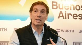 """Santilli: """"Estamos trabajando para erradicar la violencia y las mafias del fútbol"""""""