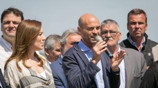 Dietrich destacó el sistema de PPP en el inicio de obras de la autopista Mercedes-Bragado