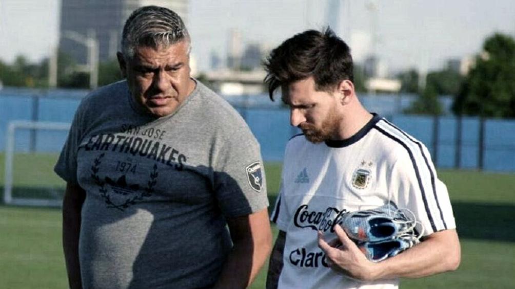 Tapia y Messi