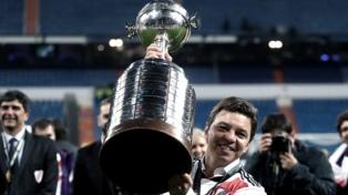 River saludó a Marcelo Gallardo con goles en su cumpleaños