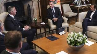 Macri recibió a su par de la República de Montenegro