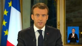 Crece la popularidad de Macron tras el incendio de Notre Dame