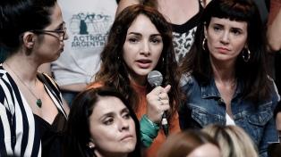 La actriz Thelma Fardín denunció a Juan Darthés por haberla violado a los 16 años