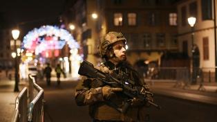 Lanzan una cacería humana para atrapar al atacante de Estrasburgo